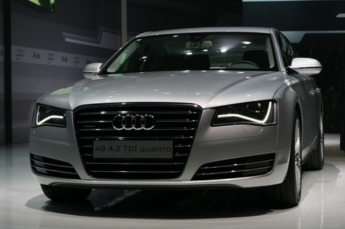 2011 Audi A8: New Eyes, New Look, New Aluminum Und Steel