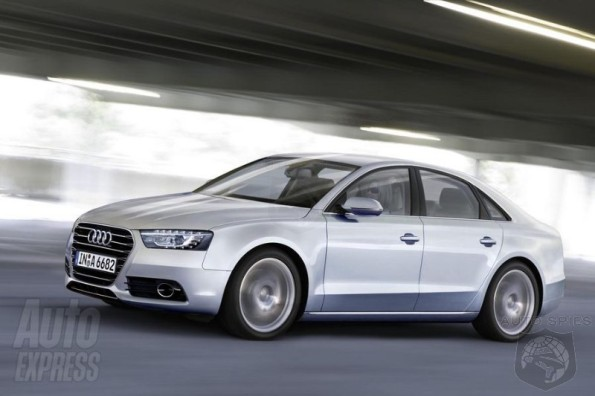 2012 Audi A6 Caught Without Its Swirl