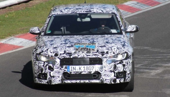 2012 Audi A6 Spied Testing At The Nurburgring