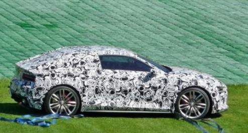 2013 Audi R4 spy photos