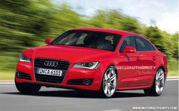 First Details Of The 2012 Audi A6