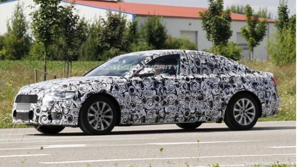 Spyshots- 2012 Audi A6
